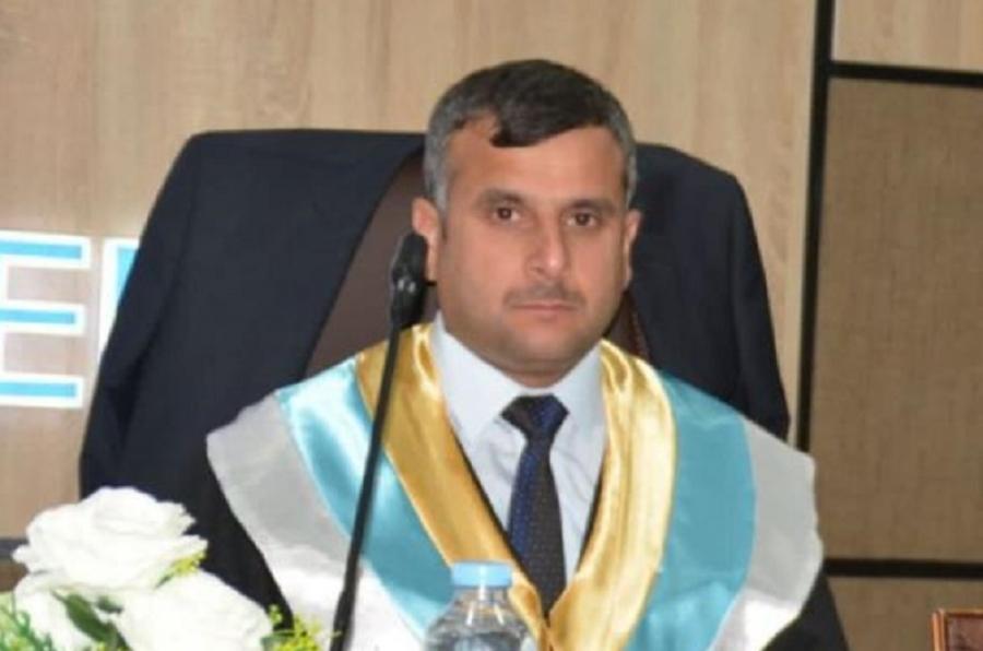 تدريسي من جامعة كركوك عضوا مناقشا لرسالة ماجستير في جامعة سوران