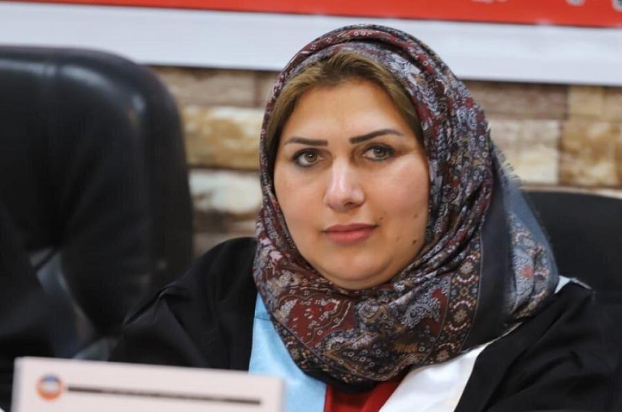 تدريسية بكلية التربية البدنية وعلوم الرياضة تشارك في مناقشة رسالة ماجستير بجامعة الموصل