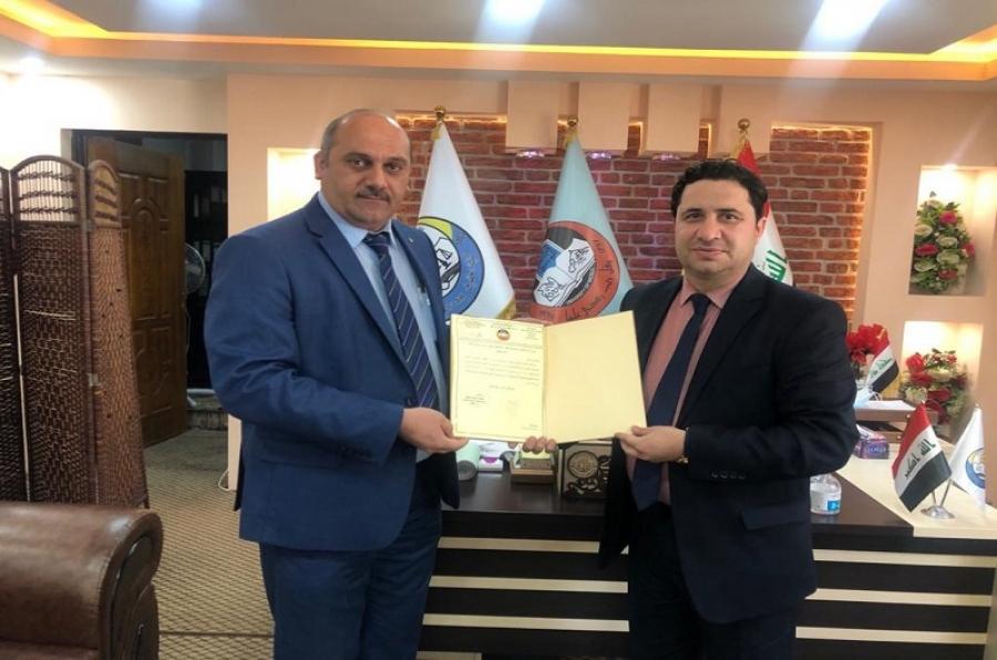 تدريسي بكلية القانون والعلوم السياسية يترأس لجنة مناقشة ماجستير بجامعة الموصل