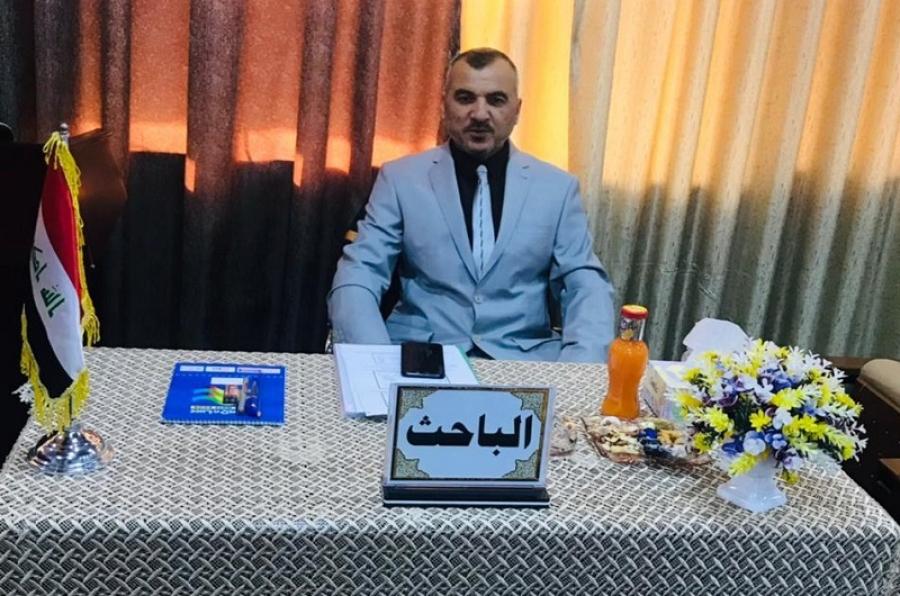 تدريسي بكلية الهندسة يحصل على الدكتوراه في تخصص هندسة النفط من جامعة بغداد