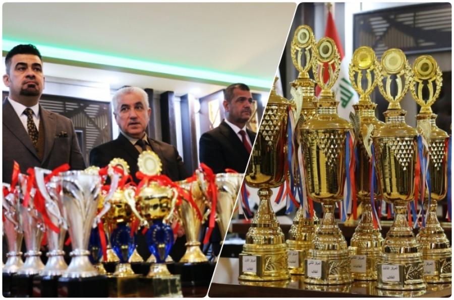 اختتام بطولة جامعة كركوك للشطرنج والطب والهندسة تحصدان كأس البطولة للطلاب والطالبات