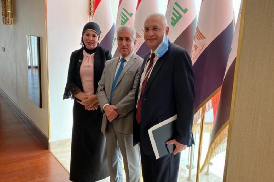 ممثلاً لوزارة التعليم العالي والبحث العلمي... رئيس جامعة كركوك يشارك في اجتماعات اللجنة العليا العراقية - المصرية على مستوى الخبراء في بغداد.