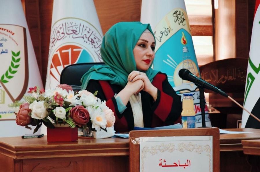 رسالة ماجستير  في الأدب العربي القديم في كلية التربية للعلوم الانسانية