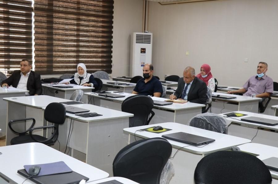 لجنة صلاحية التدريس في جامعة كركوك تجري مقابلات  لعدد من حملة الشهادات العليا