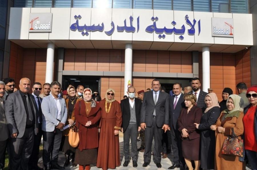 جامعة كركوك تشارك في افتتاح مبنى احدى دوائر المحافظة