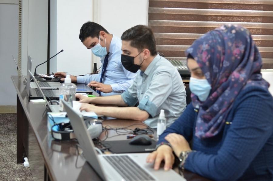 اللجنة المركزية المشكلة في جامعة كركوك تتابع الامتحانات النهائية