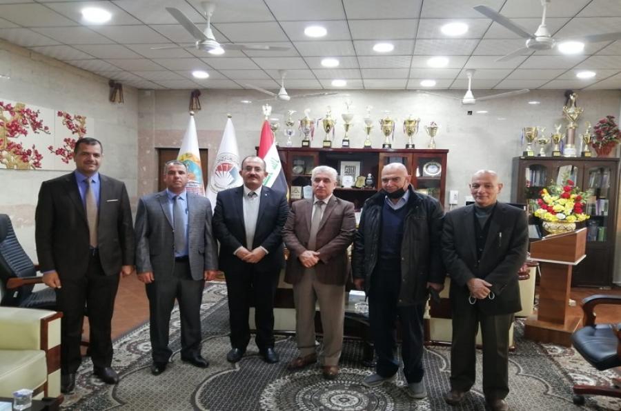 كلية الزراعة توقع اتفاقية تعاون مع شركة كوسار للإنتاج الزراعي والحيواني