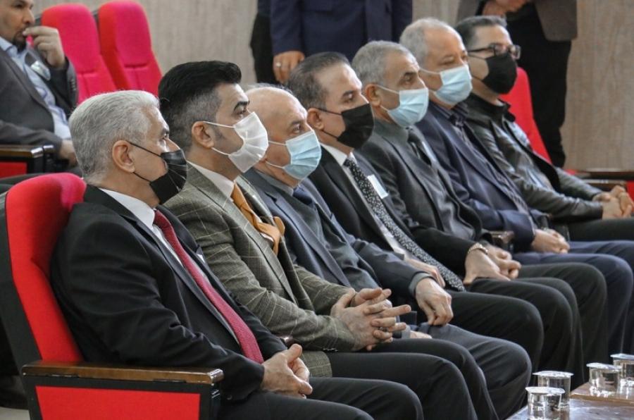 بحضور رئيس الجامعة كلية التربية للعلوم الانسانية تقيم حفلاً تأبينياً للراحل الاستاذ الدكتور علي العزاوي