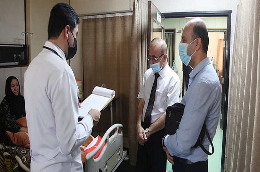 كلية الطب تنهي الامتحانات السريرية لطلبتها للسنة الدراسية 2020-2021