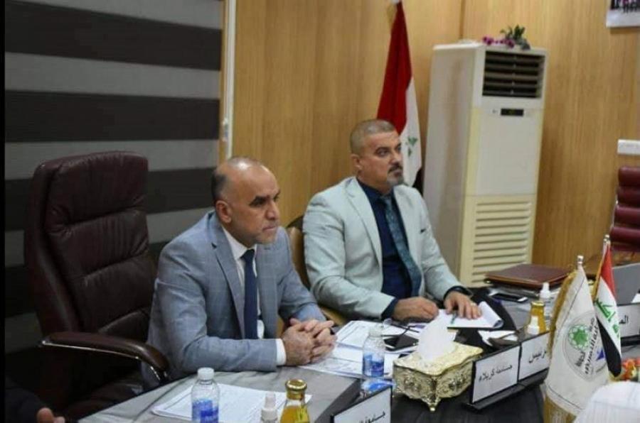 عميد. كلية التمريض بجامعة كركوك يشارك في اجتماع عمداء كليات التمريض العراقية