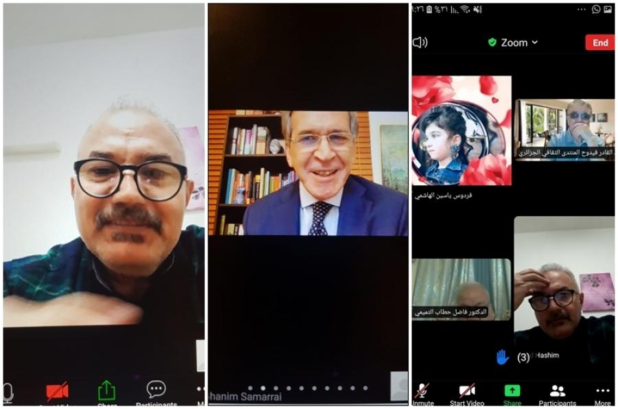 كلية الآداب تنظم ندوة علمية عن المقاربات النقدية في الشعر العربي الحديث