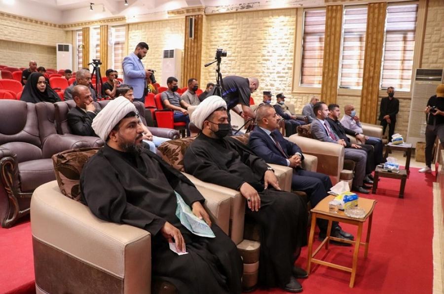 ندوة علمية في جامعة كركوك عن دور المنبر الحسيني في نشر رسالة الحقوق للإمام علي بن الحسين زين العابدين عليهم السلام.