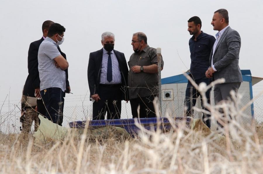 رئيس الجامعة يفتتح محطة للرصد الزلزالي تابعة لكلية العلوم