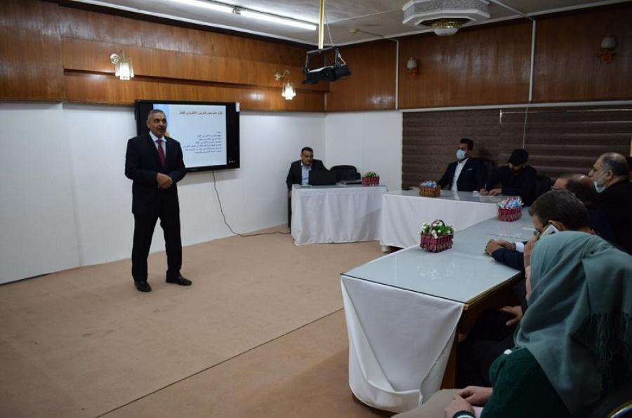 كلية التربية الحويجة تقيم حلقة نقاشية حول التعليم الفعال في ظل جائحة كورونا