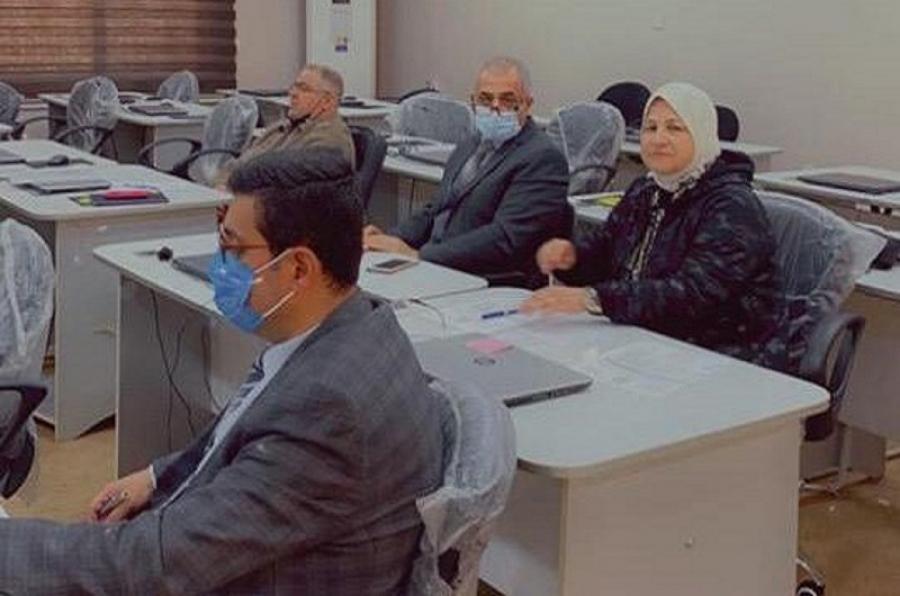 جامعة كركوك تجري امتحان صلاحية التدريس لعدد من المتقدمين من حملة الشهادات العليا
