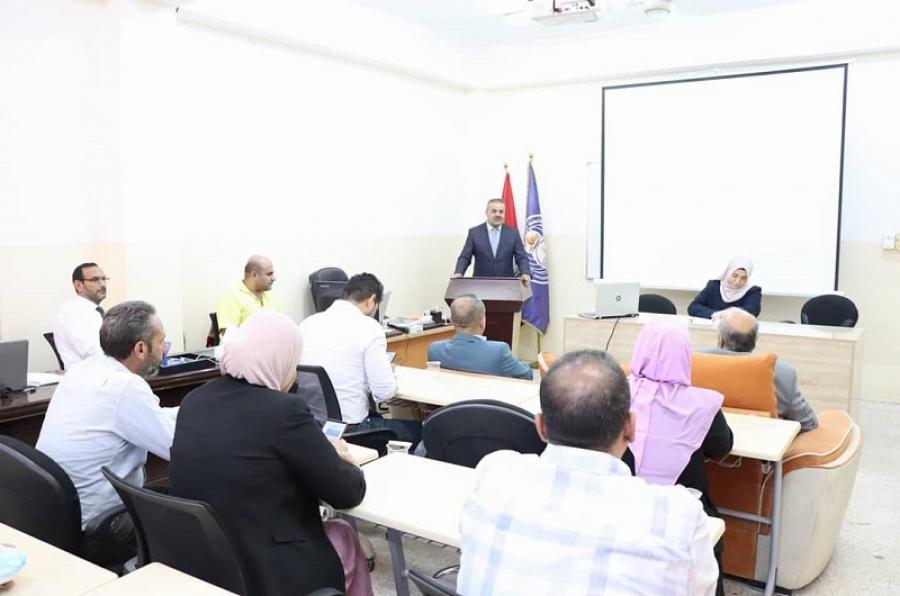 كلية الآداب  تنظم ندوة علمية حول  سبل حفظ السلام في المجتمع