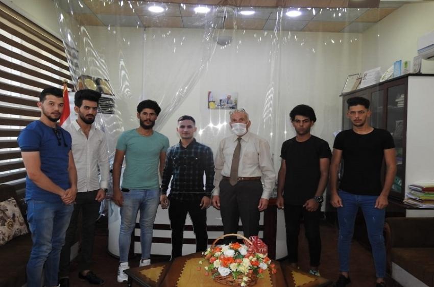 مديرية الاقسام الداخلية تؤرخ لقبسات من حياة الطالب الشهيد جاسم محمد نوري في الجامعة