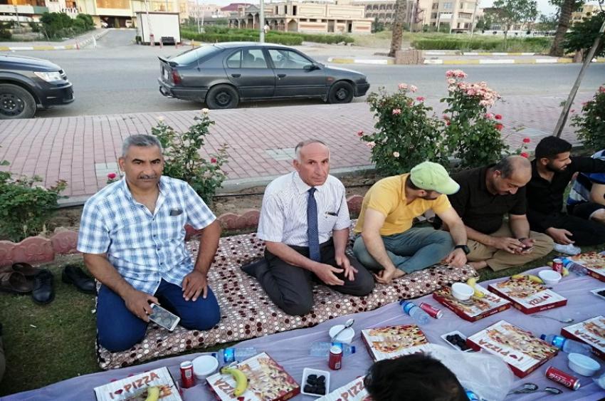 افطار جماعي لطلبة مديرية الاقسام الداخلية جامعة كركوك