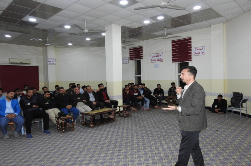 الاقسام الداخلية في جامعة كركوك تحتضن فعاليات الأسبوع الثقافي الأول للعتبة الحسينية المقدسة