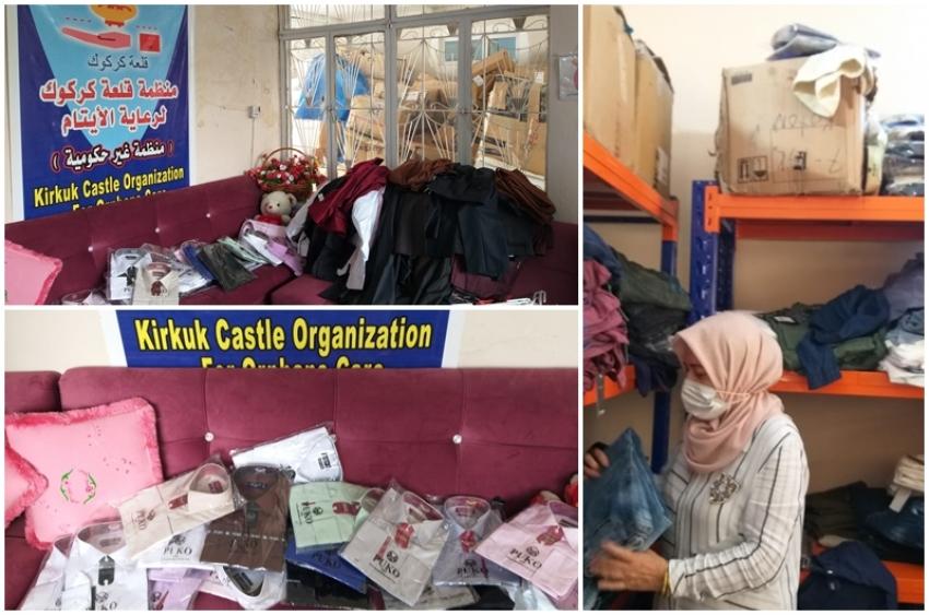 مديرية الاقسام الداخلية توزع كسوة العيد على منتسبيها من الاجراء اليوميين