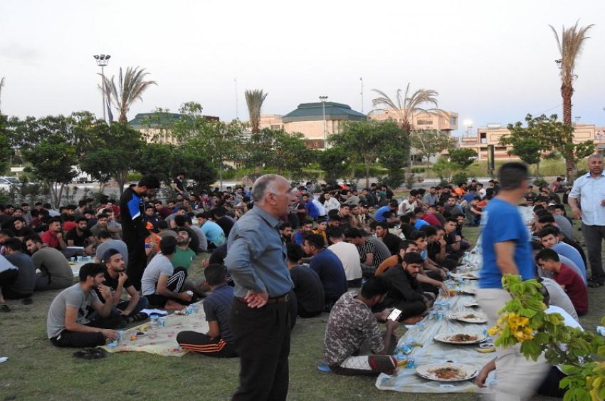 افطار جماعي لطلبة الاقسام الداخلية جامعة كركوك