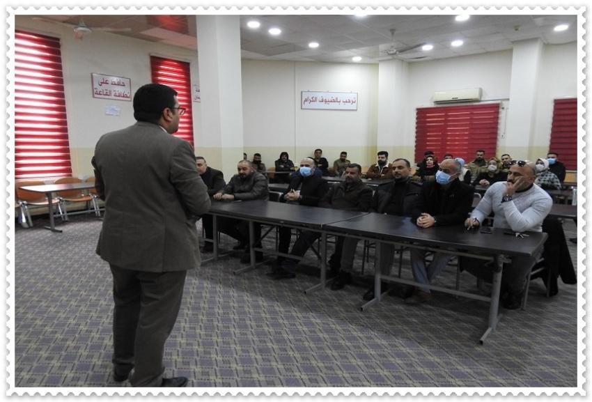 مديرية الاقسام الداخلية تقيم ورشة عمل عن دور المواطنة في تعزيز العمل التطوعي