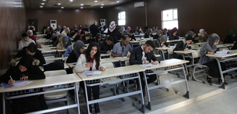 The mid-term exams started at Kirkuk Medical