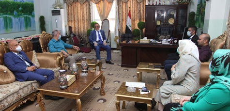 Visiting of Kirkuk Health Directorate's