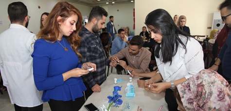 A team of Kirkuk Medical College students