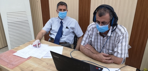 Kirkuk Medical College performed the clinical exams